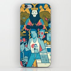 Big Trouble iPhone Skin