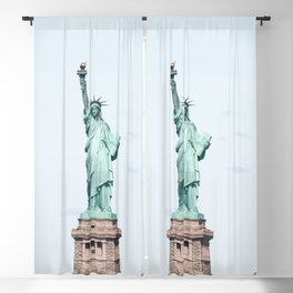 Statue of Liberty Blackout Curtain