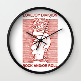 Lovejoy Division Wall Clock