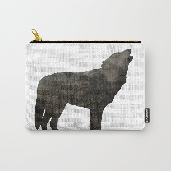 SOUL OF A WOLF Carry-All Pouch