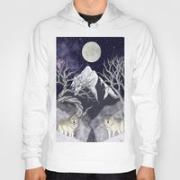 guardians Hoodies featuring Guardians by Yoly B. / Faythsrequiem