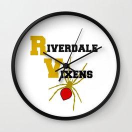 Riverdale Vixens Wall Clock