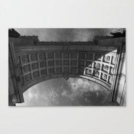 Grand Army Plaza Memorial Arch, Brooklyn Canvas Print