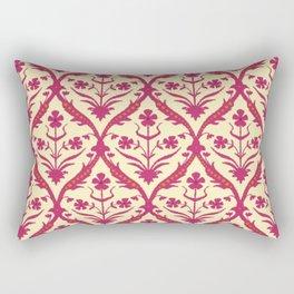 Oshma trellis ikat Rectangular Pillow