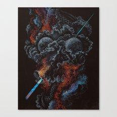 I am so sick of dying Canvas Print