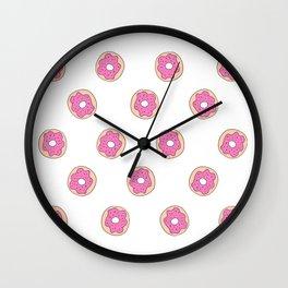 ich bin ein berliner // i am a donut II Wall Clock