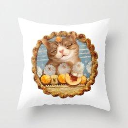 like pie II? Throw Pillow
