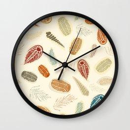 Trilobite Dig Wall Clock
