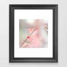 The color of autumn Framed Art Print