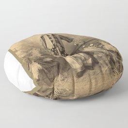 A Kurdish Chief (1880) Floor Pillow