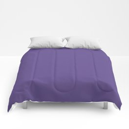Ultra Violet Purple - Color of the Year 2018 Comforters