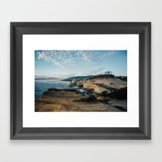 Rugged Pacific City Framed Art Print