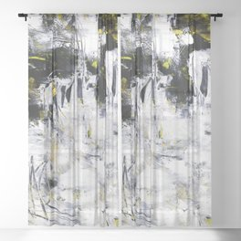 Wayfaring Dream 1a by Kathy Morton Stanion Sheer Curtain
