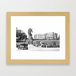 Moses-Ludington Hospital 1930 Framed Art Print