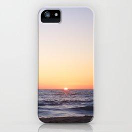 Hermosa Beach Sunset iPhone Case