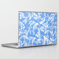 cherry blossom Laptop & iPad Skins featuring Cherry Blossom by Elena O'Neill