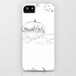 Above the Ash iPhone Case