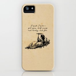 Wuthering Heights - Emily Bronte iPhone Case