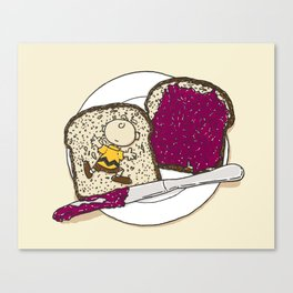 Peanut butter & Jelly Canvas Print