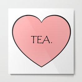 Tea. Metal Print