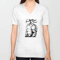 tmnt V-neck T-shirts featuring tmnt by CarlosG