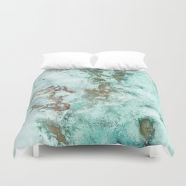 INKED INCEPTION - GOLD & ICE Duvet Cover