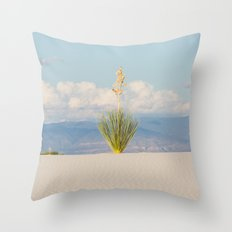 White Sands, No. 3 Throw Pillow