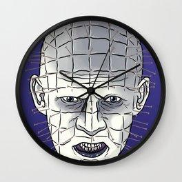 Head Of Pins Wall Clock