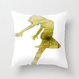 The dancer 01 Throw Pillow