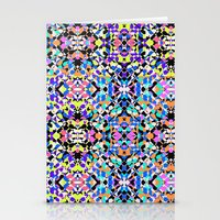 techno Stationery Cards featuring Techno Tribal  by Isabella Salamone