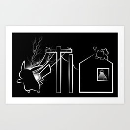You Give Me Energy Art Print