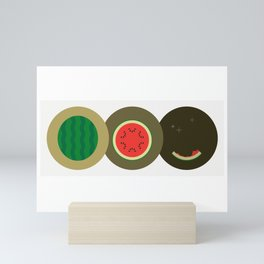 Watermelon Time! Mini Art Print