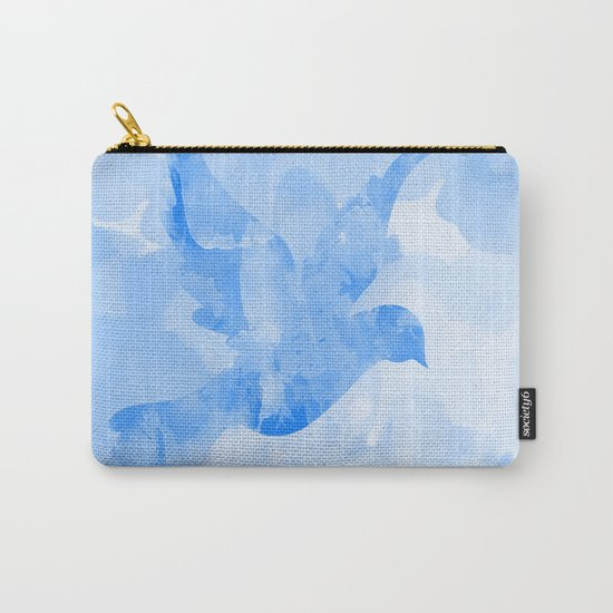 Abstract Flying Dove II Carry-All Pouch
