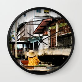 Bangkok Lifestyle Wall Clock