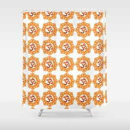 Om sweet Om! Shower Curtain