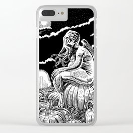 It's the Great Cthulhu! Clear iPhone Case