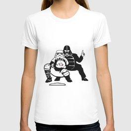 The Umpire Strikes Back T-shirt