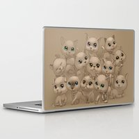 kittens Laptop & iPad Skins featuring Kittens by Antracit
