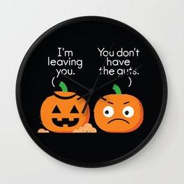 Gourd Riddance Wall Clock