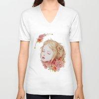matty healy V-neck T-shirts featuring Atonement by Jennifer Healy