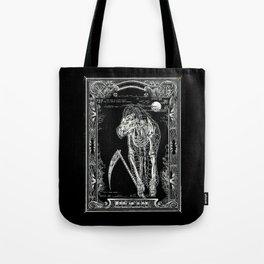 DEATH of Tarot Cat Tote Bag