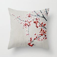 Red Magic Throw Pillow