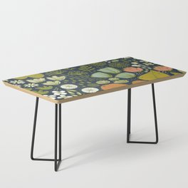 Botanical Sketchbook M+M Navy by Friztin Coffee Table