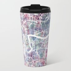 Brisbane map Travel Mug