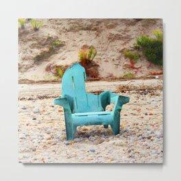 Art's Chair Metal Print