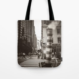 City Steam Tote Bag