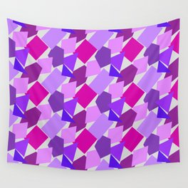 Shapely Purple Wall Tapestry