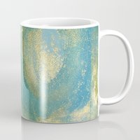 planet Mugs featuring Planet by Water Gypsy