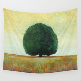 Lone Tree Wall Tapestry