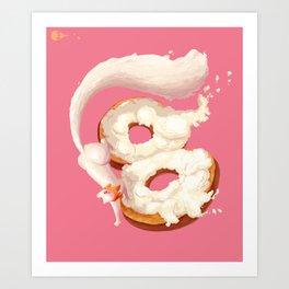 Cream Cheese Art Print